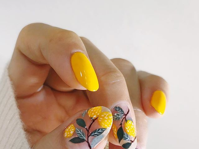 Life and Lemons nail
